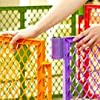 easy open play yard; baby safe yard