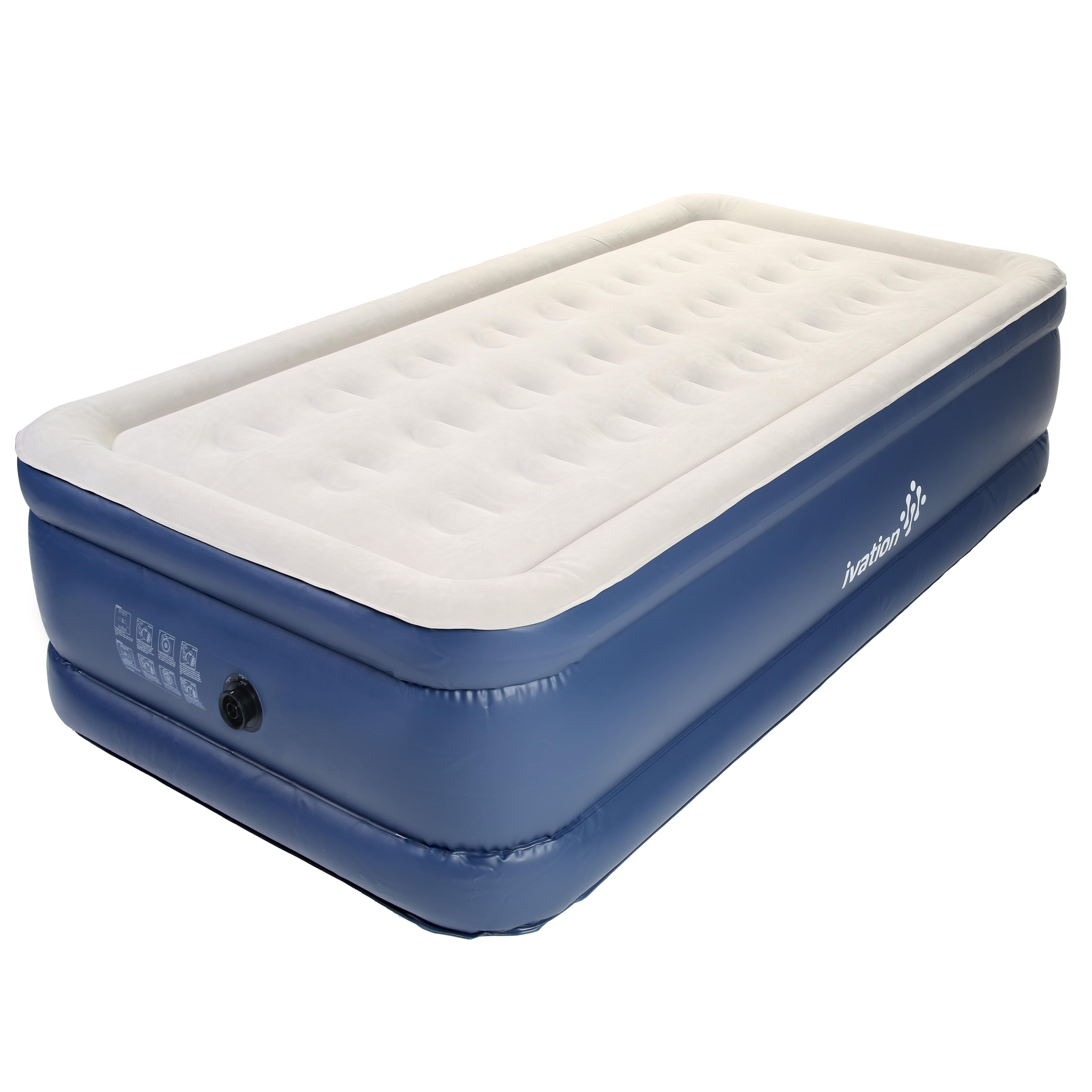 Amazon Com Ivation Inflatable Twin Air Bed Double