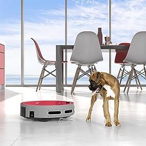 robot vacuum, bobi pet, bobsweep, robotic, vacuum cleaner, pet product, dog product, pet hair