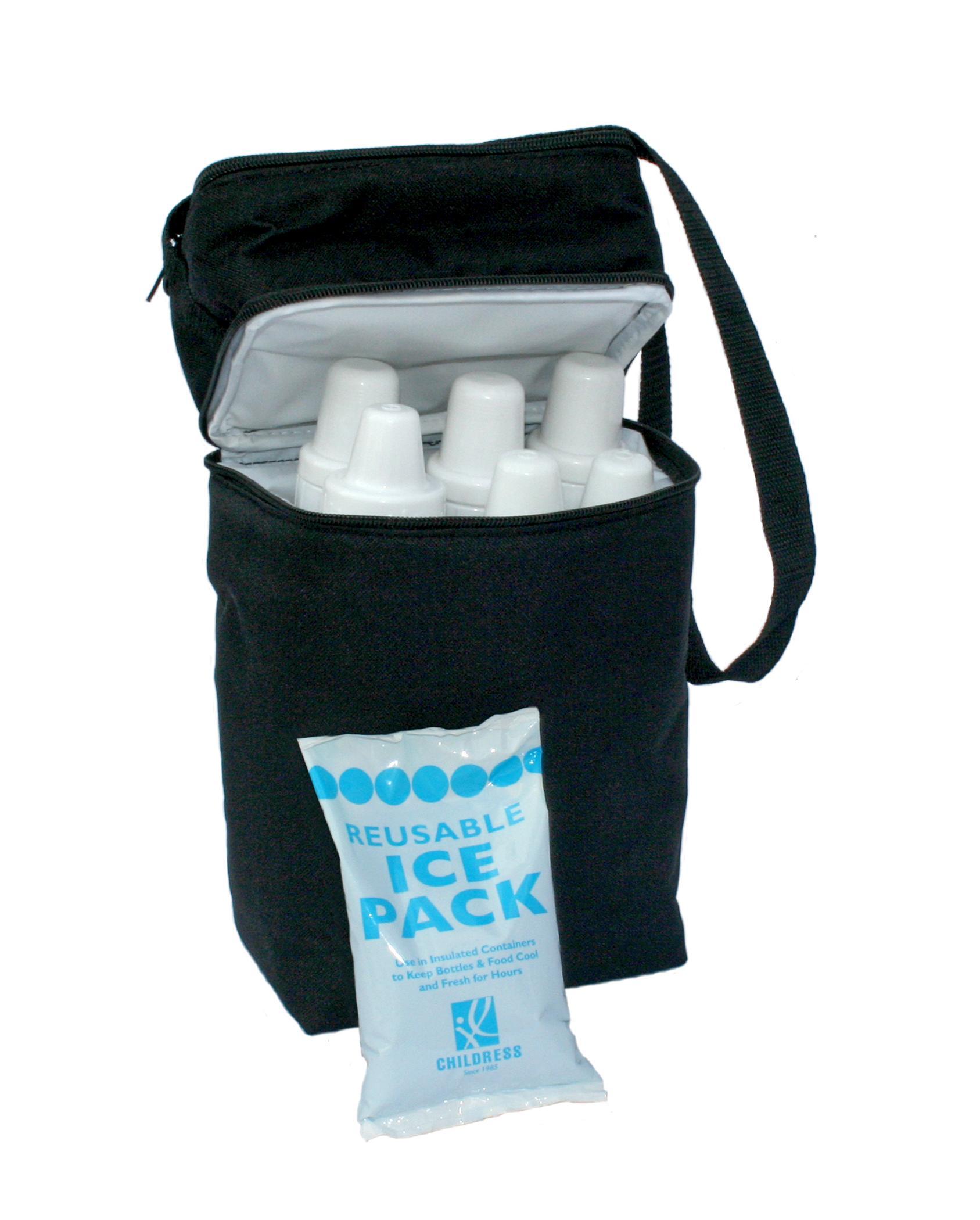 Amazon Com Jl Childress 6 Bottle Cooler Black Baby