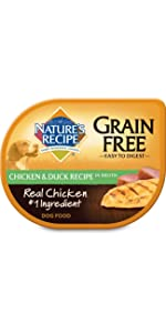 grain free wet dog food cup