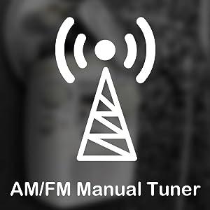 AM/FM Manual Tuner