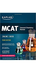 MCAT Complete 7-Book Subject Review: Online + Book (Kaplan Test Prep