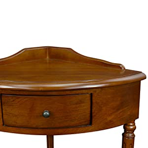 Lovely Corner Table, Hall Table, Corner Hall Table, Hall Console, Corner Hall  Console
