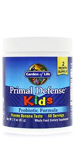 primal defense kids probiotic formula banana
