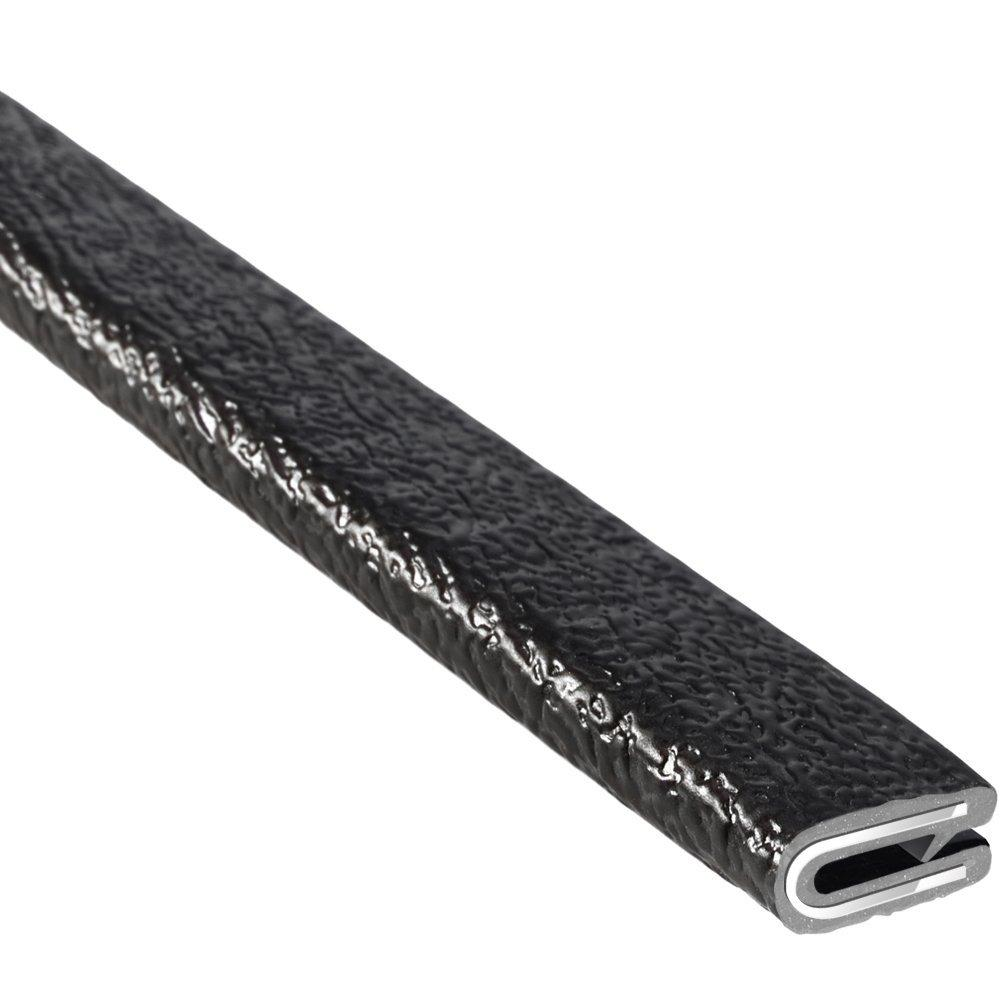 Trim Lok Edge Trim Pvc Aluminum With Textured Black Finish