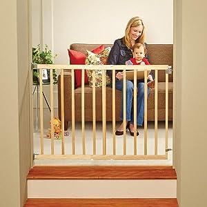 Walk Through Baby Gate, Baby Gate Top Of Stairs, Swing Baby Gate, Gate