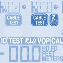 RLQ Cable Quality Test