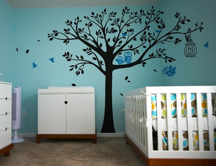 Amazoncom Pop Decors Removable Vinyl Art Wall Decals Mural - Wall decals of trees