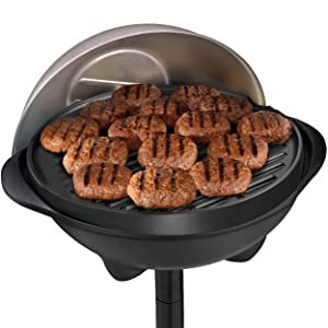 Amazon Com George Foreman Ggr50b Indoor Outdoor Grill
