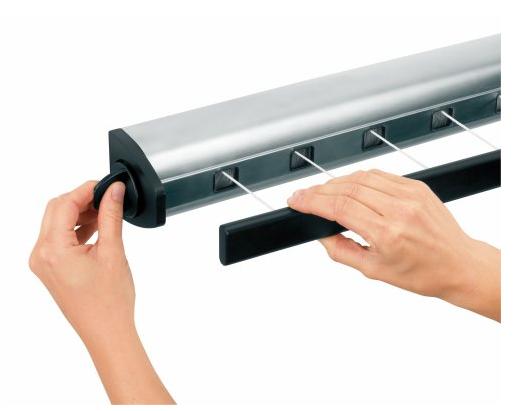 brabantia indoor retractable clothesline 72. Black Bedroom Furniture Sets. Home Design Ideas
