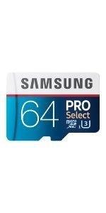 Samsung 64GB PRO Select microSDXC Memory Card