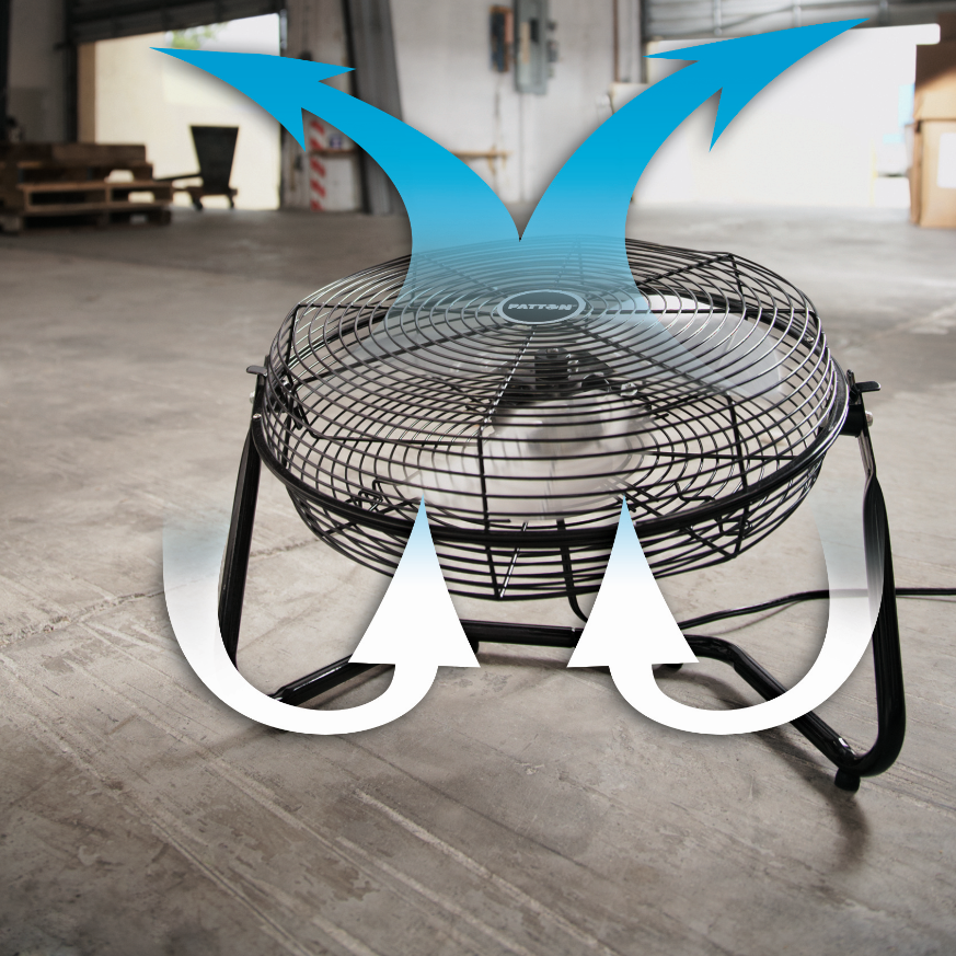 Patton Floor Fan : Amazon patton inch high velocity fan puf b bm