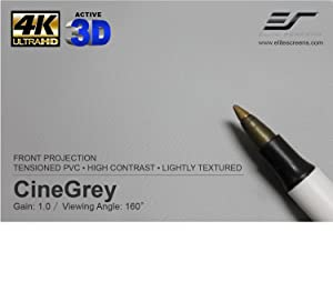 CineGrey, Cinegrey projection screen, grey projection screen