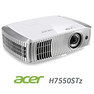 Acer H7550STz 3D DLP Home Theater Projector with WirelessHD Adapter