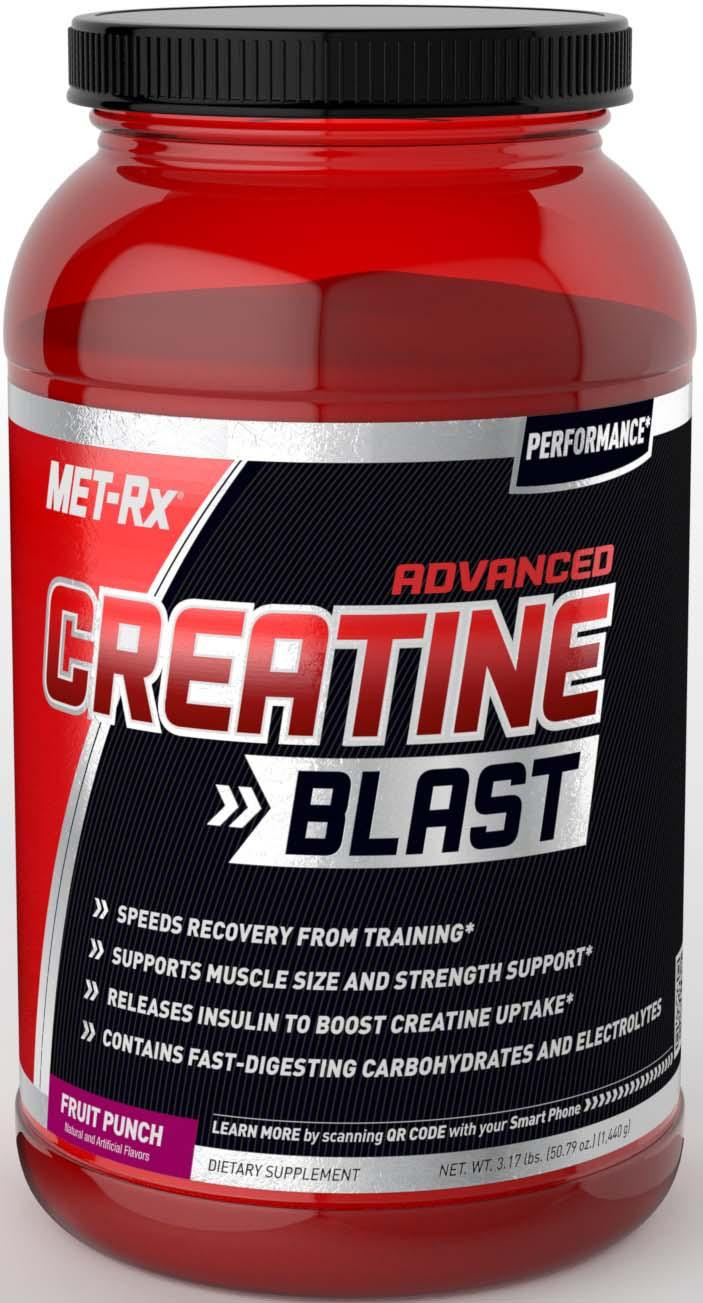Amazon.com: MET-Rx Advanced Creatine Blast Fruit Punch