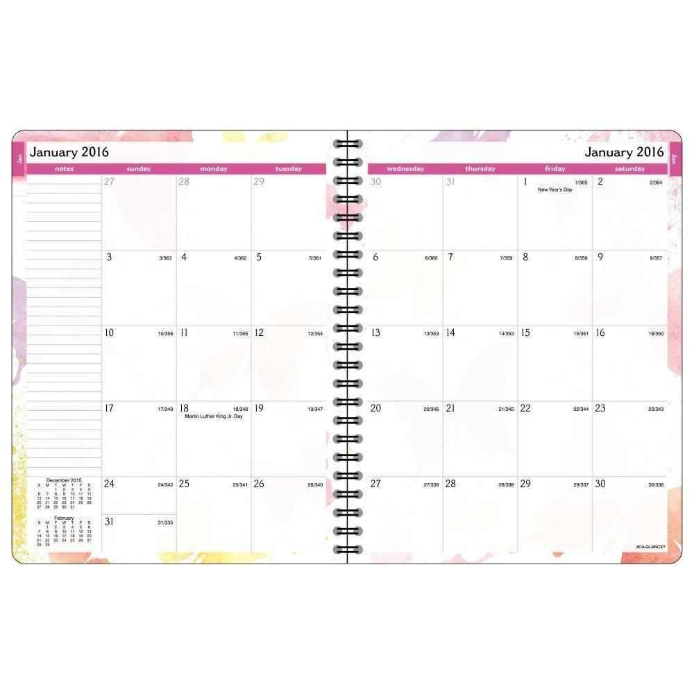 monthly planning the daily blocks on the monthly calendars are unruled ...