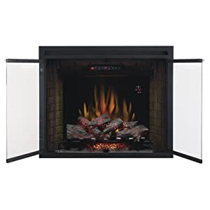 Amazoncom ClassicFlame 39EB500GRS 39 Traditional Built in