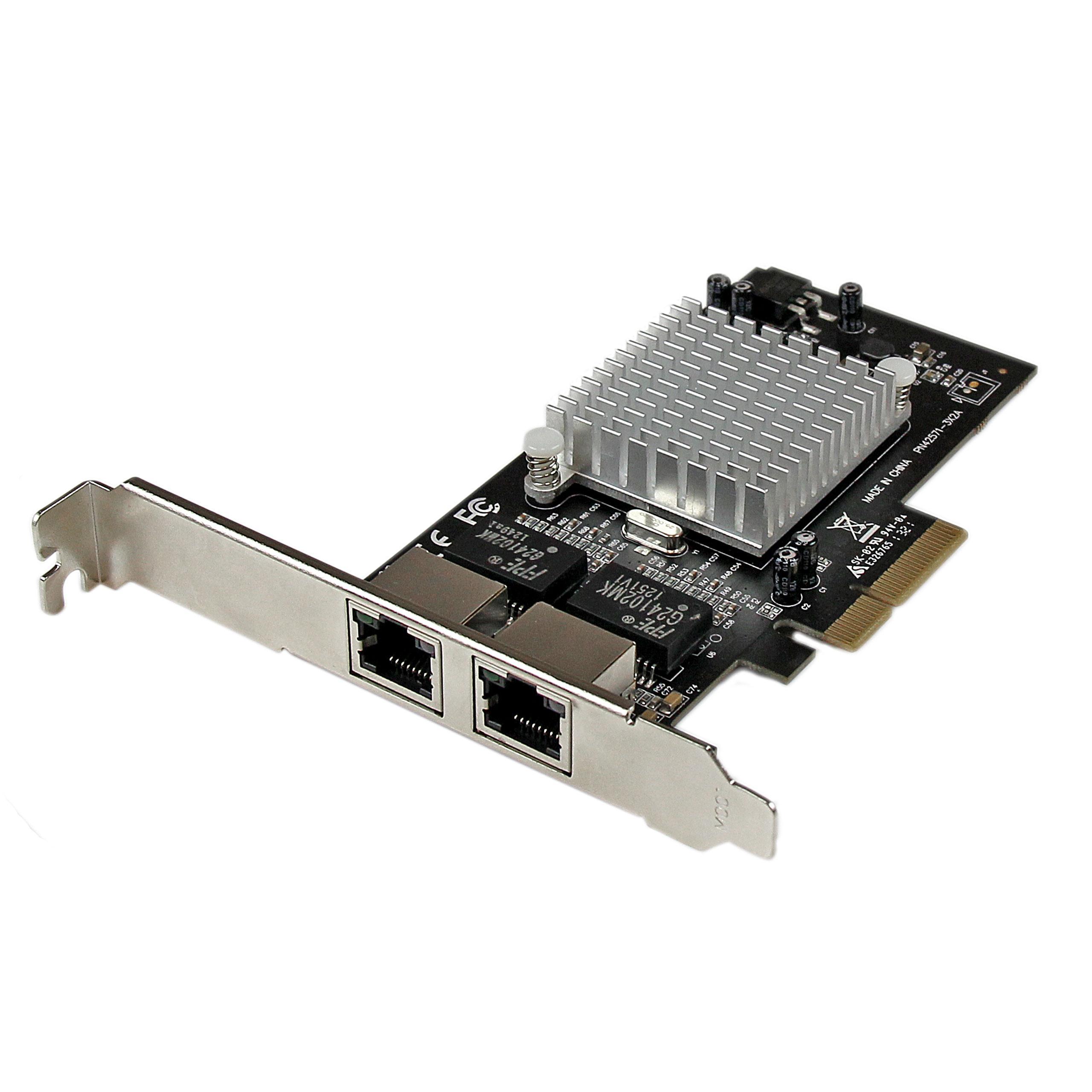 Amazon.com: StarTech. com 4-Port tarjeta de red Ethernet ...