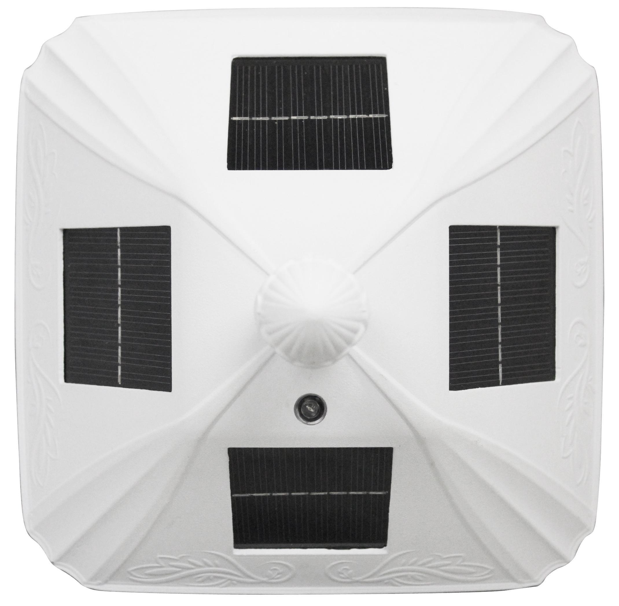 Amazon Com Gama Sonic Windsor Solar Outdoor Post Light: Amazon.com : GAMA SONIC GS-106FPW-W Baytown Lamp Outdoor
