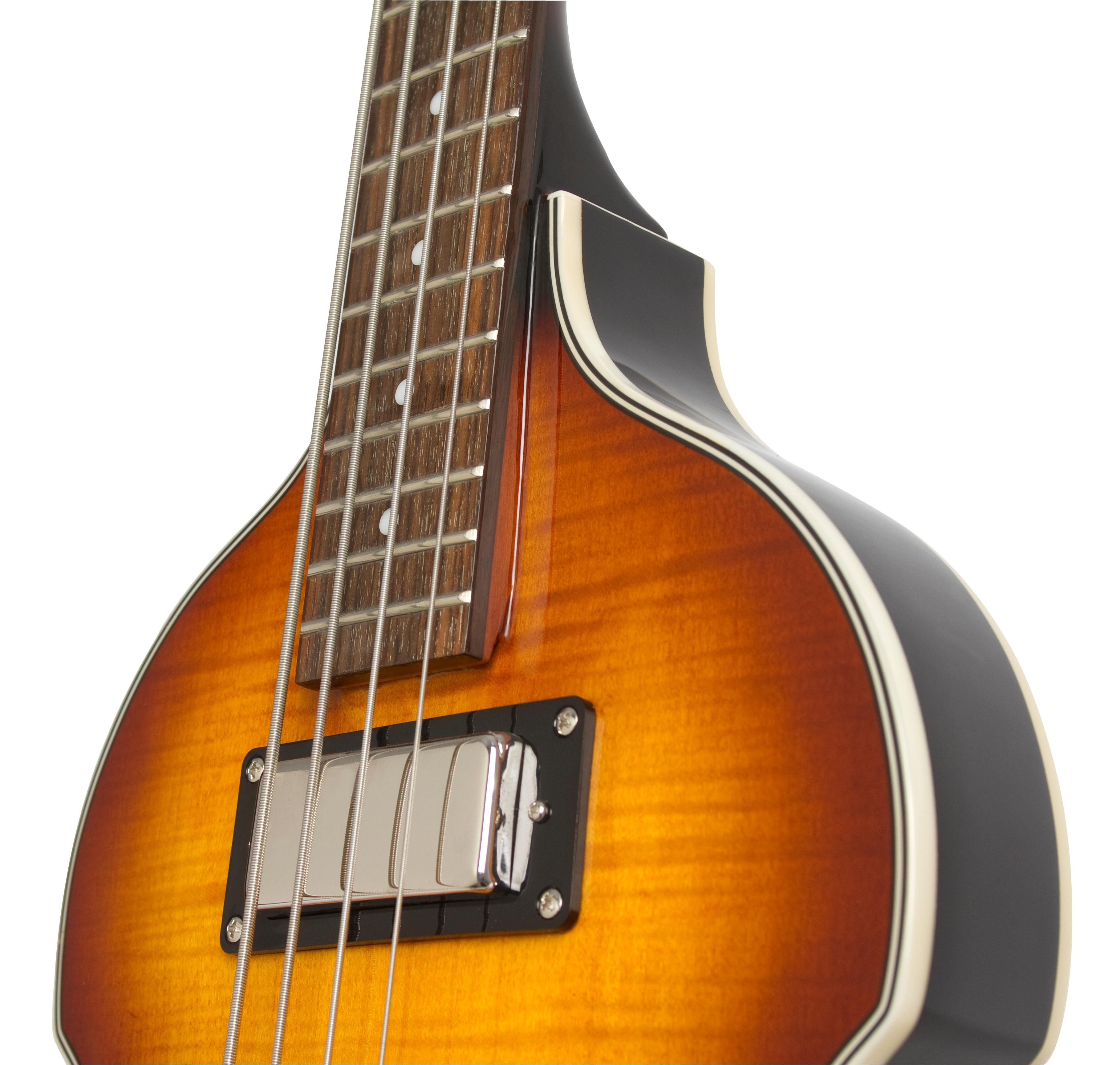 epiphone viola electric bass guitar vintage sunburst musical instruments. Black Bedroom Furniture Sets. Home Design Ideas