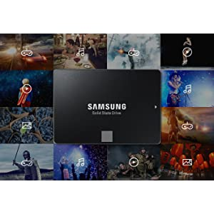The Samsung 850 EVO 2.5-Inch SATA III SSD is available in up to 4TB.