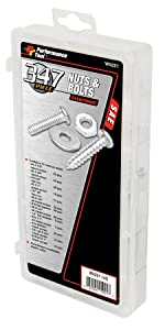 Performance Tool W5221 SAE Nuts and Bolts Assortment