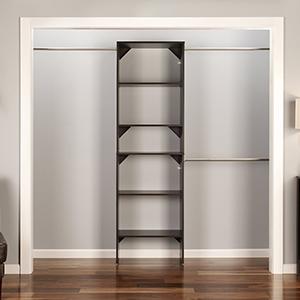 Amazon ClosetMaid 4871 SuiteSymphony Corner Unit Pure White
