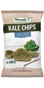 peanut free, treenut free, gluten free, kale chips