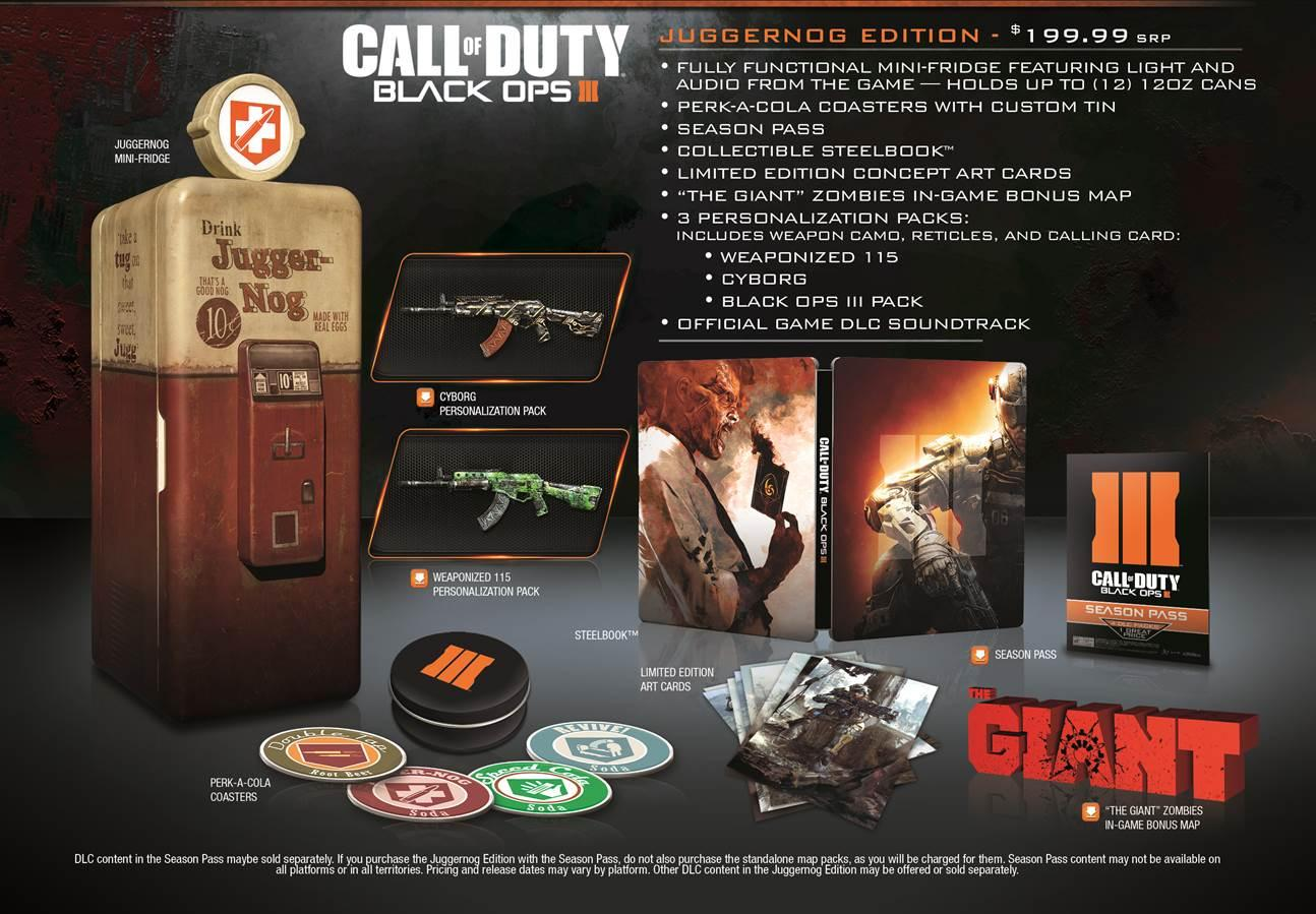 Amazon.com: Call of Duty: Black Ops III Juggernog Edition ... on cod ghosts, cod blackops 2, cod of duty fish game, new super mario bros 2 maps, cod 2 buried map, cod dlc maps, cod map layouts, black ops 3 maps, cod zombie maps, black ops zombie maps, cod camp funny, cod mw3 maps, cod mw2 maps, mortal kombat 2 maps, cod world at war maps, left 4 dead 2 maps, cod 2 tranzit map, dead island 2 maps, cod bo 2 multiplayer, cod uprising,