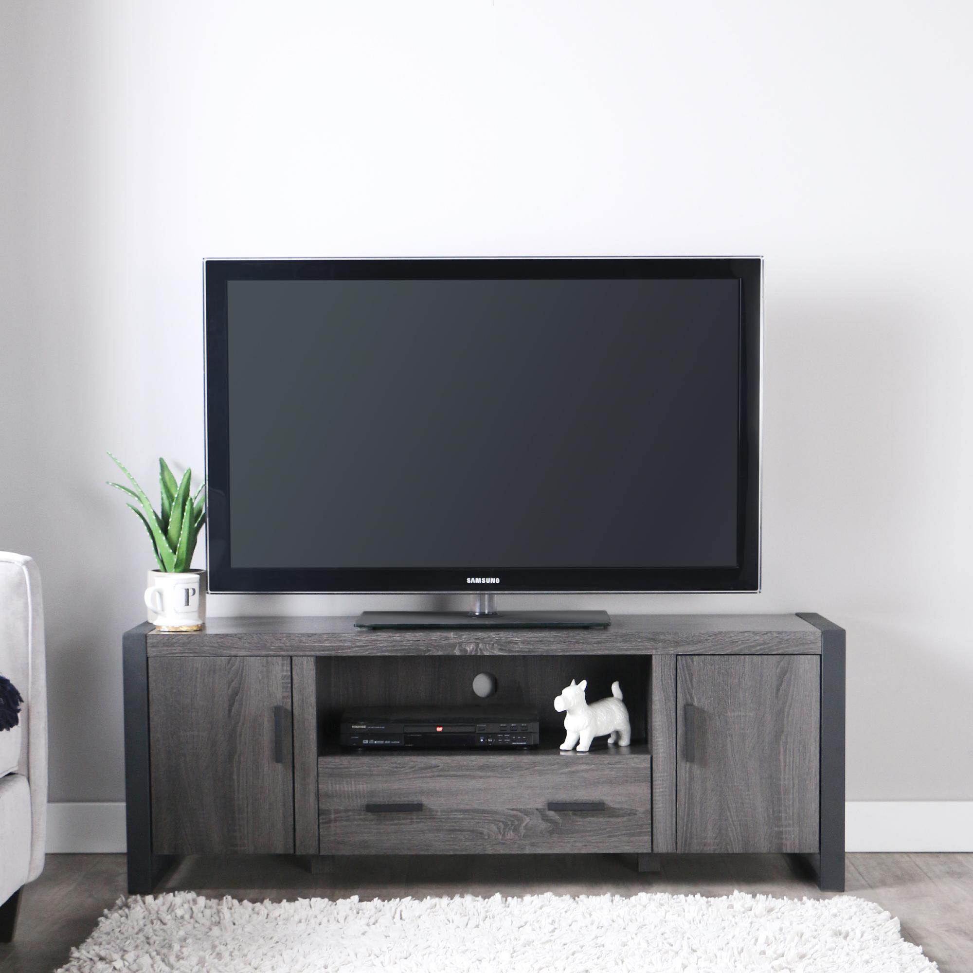 Amazon Com Walker Edison Furniture 60 Quot Wood Console Media