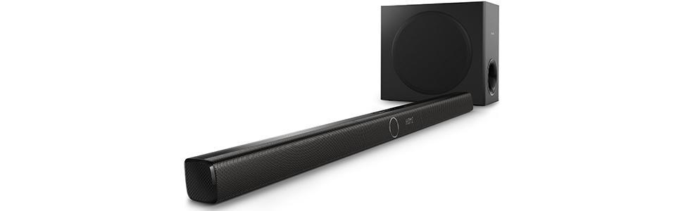 Philips HTL3170B/37 Soundbar Speaker with Wireless Subwoofer