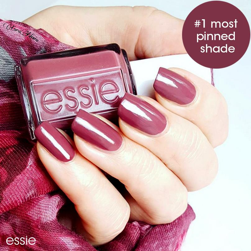 Amazon.com : essie nail polish, chinchilly, gray nail polish, 0.46 ...