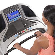 Horizon T7 Treadmill Programs, Horizon T7 console