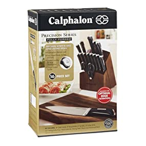 Amazon Com Calphalon 1834745 Precision Series 16 Piece