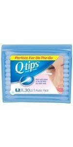 Q-tips Blue Travel Pack Cotton Swabs