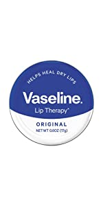 Vaseline Lip Therapy Original Lip Balm Tin