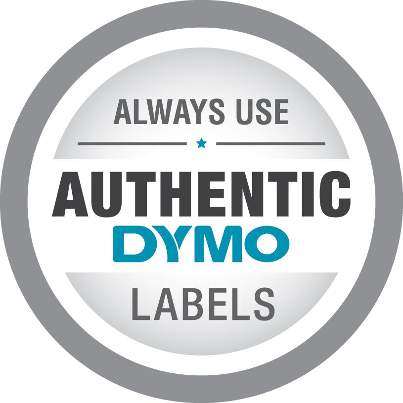DYMO LW Name Badge Labels with 12-Hour Expiration Notification Disks for  LabelWriter Label Printers, White, 2-1/4'' x 4'', 1 roll of 250 (30911)