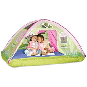 bed tent kids twin  sc 1 st  Amazon.com & Amazon.com: Pacific Play Tents Kids Cottage Bed Tent Playhouse ...
