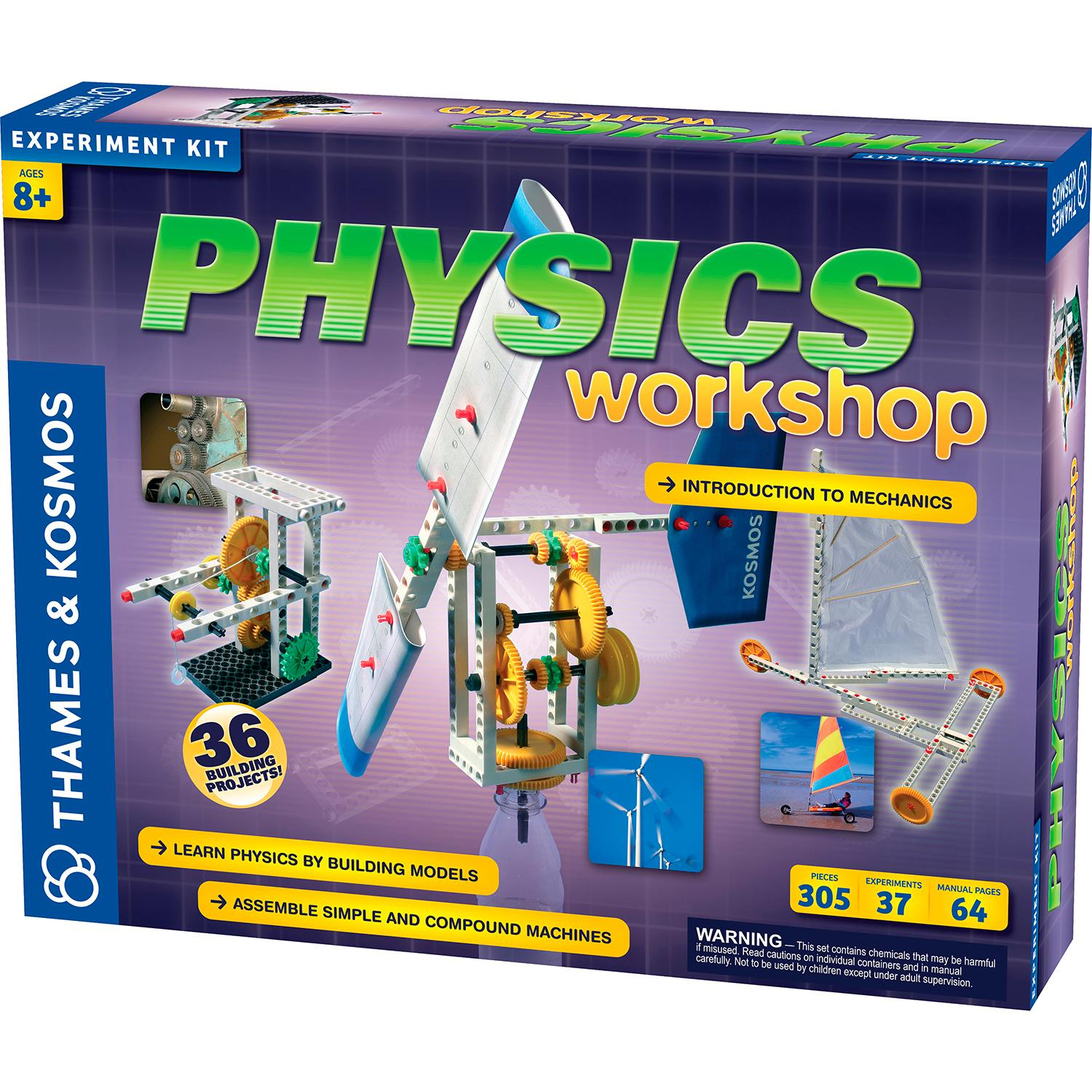 Amazon.com: Thames & Kosmos Physics Workshop: Toys & Games
