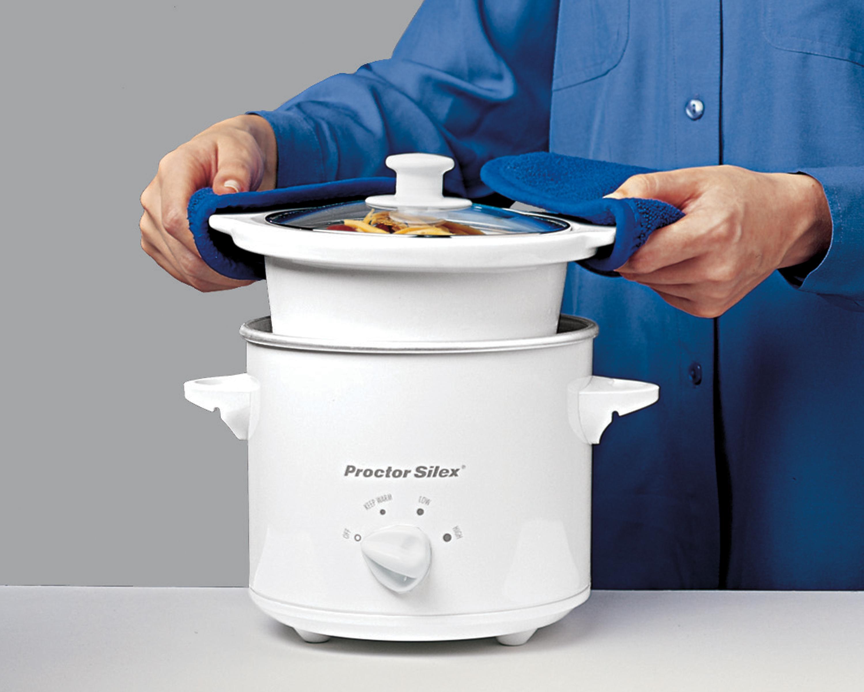 Amazon Proctor Silex 33015Y 1 2 Quart Round Slow Cooker
