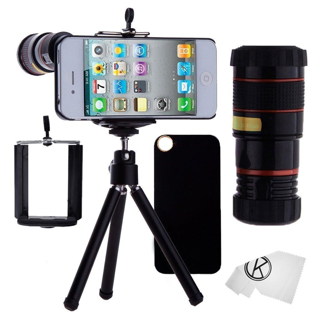 iphone camera holder iphone 4 4s lens 8x telephoto lens 8288