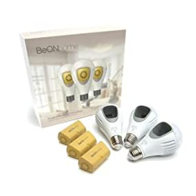 BeON Home Protection System, Set of Three Bulbs 8