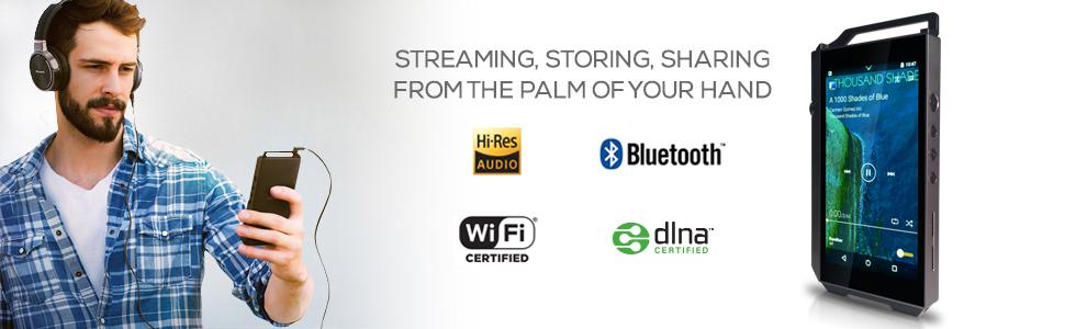 Streaming, Storing, Sharing from the Palm of Your Hand