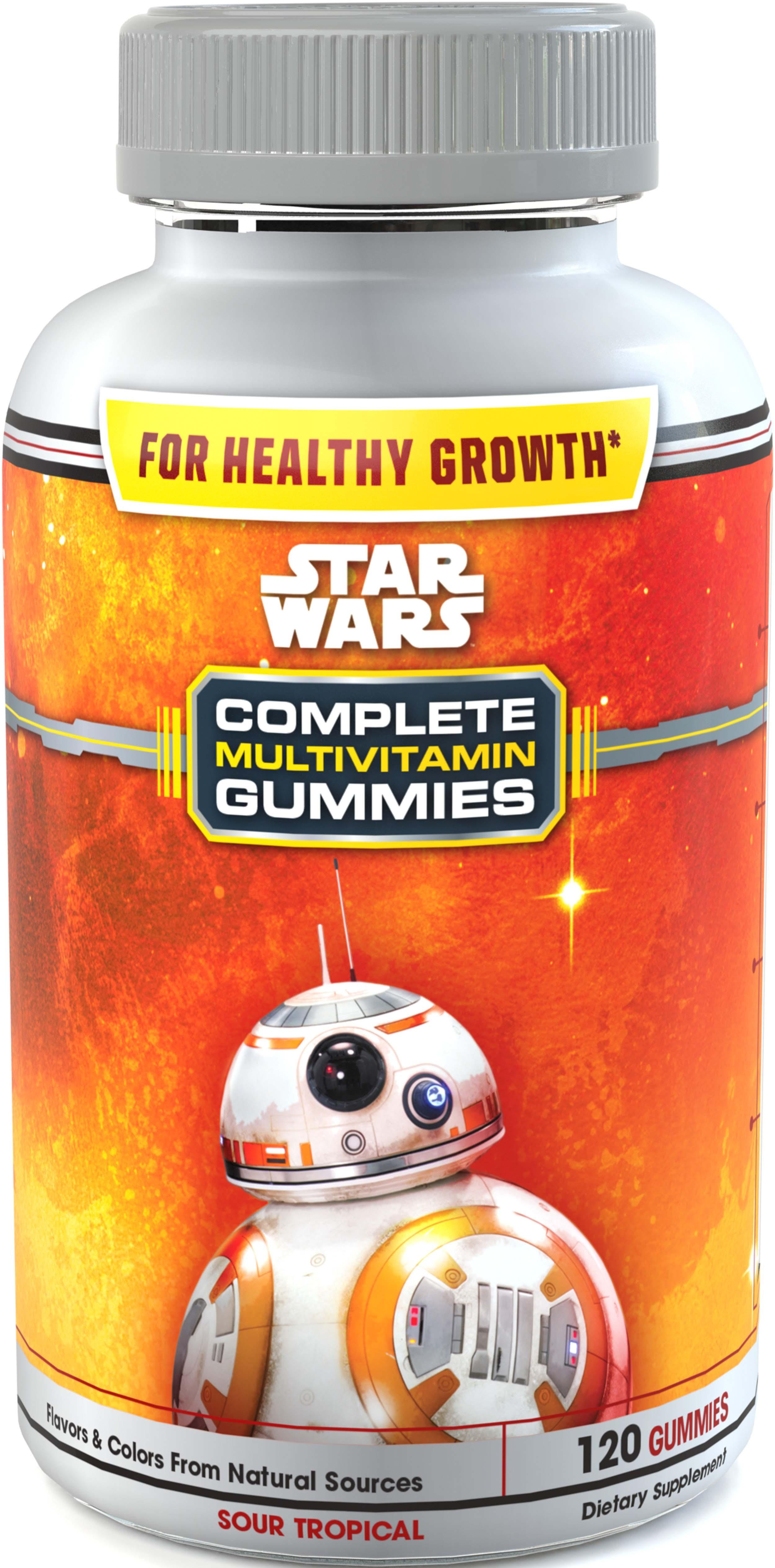amazon com star wars sour complete multi vitamin gummies