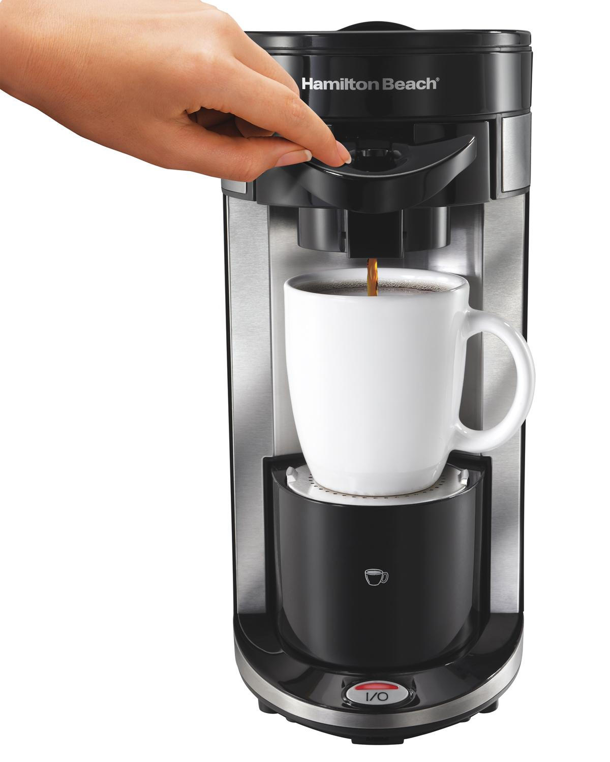 Amazon Com Hamilton Beach Single Serve Coffee Maker