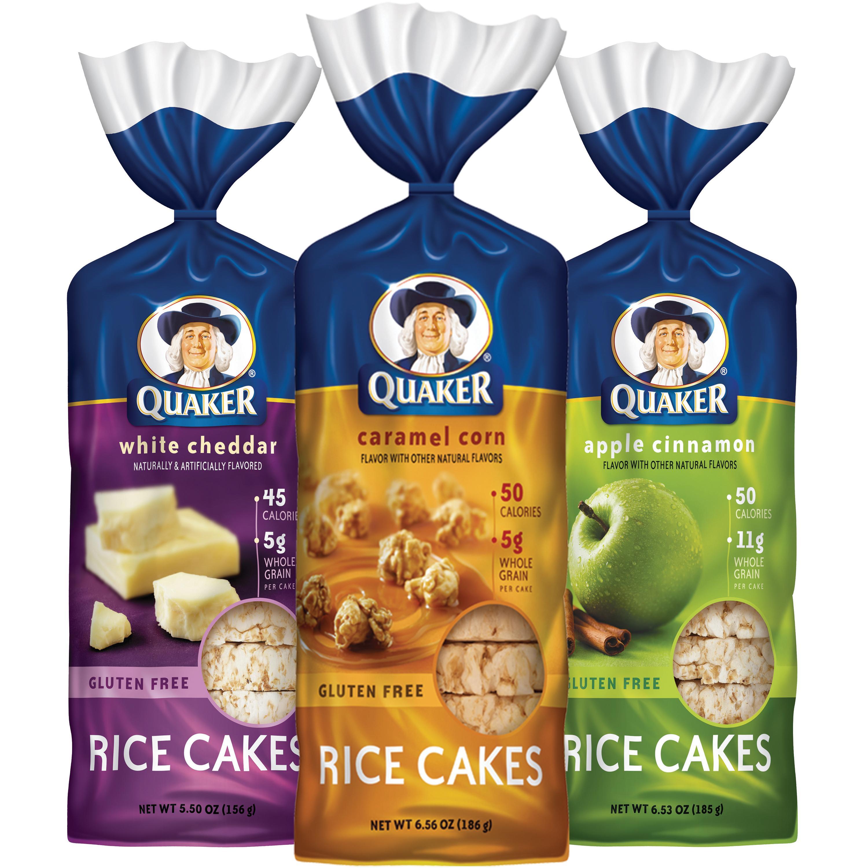 Quaker Caramel Rice Cakes Gluten Free
