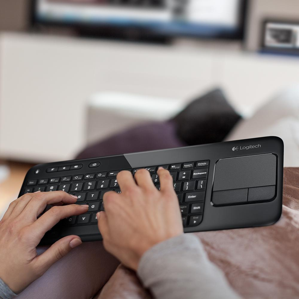 Amazon Logitech Living Room Keyboard K410 Wireless