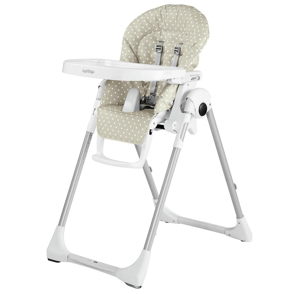 Peg perego usa prima pappa zero 3 high chair for Housse de chaise peg perego prima pappa