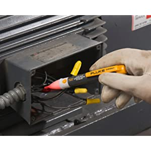 Voltage detectors that test voltage on electrical systems